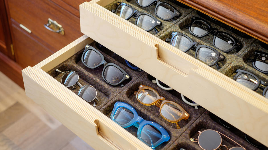 spectacular eyewear in a stunning location